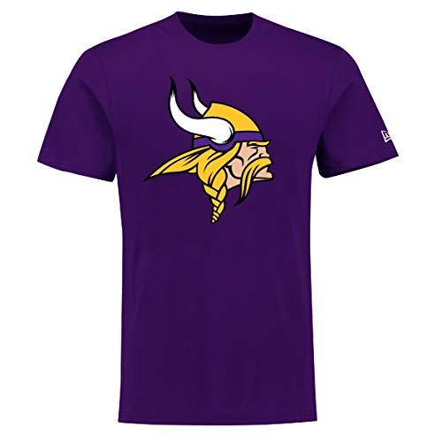 New Era Minnesota Vikings T Shirt Reverse Base Tee Purple - M (Shirt Minnesota Vikings-damen)