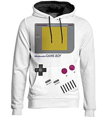 Sweat à capuche Nintendo Game Boy Geek - Kanto Factory -