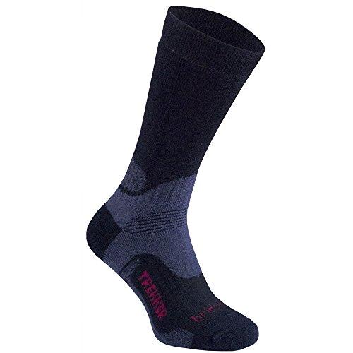 Bridgedale Woolfusion Trekker Walking Socks Medium Black (Trekker Bridgedale Socke)