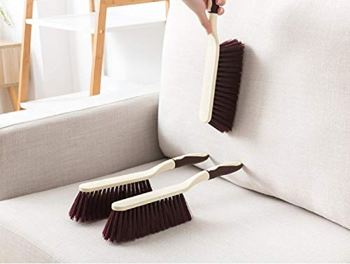Maharsh Cleaning Brush with Hard & Long for Car Seat/Carpet/Mat,Color-Brown,size-14inch Length
