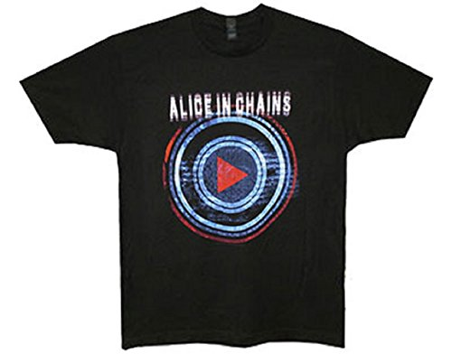 ALICE IN CHAINS - PLAY - T-SHIRT UFFICIALE UOMO - Nero, X-Large