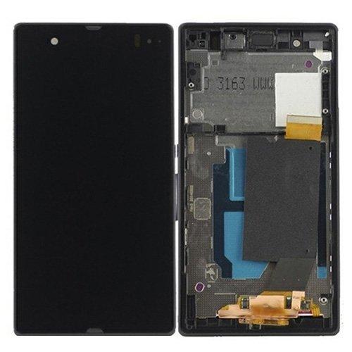 Ersatzteile, iPartsBuy LCD-Display + Touch Screen Digitizer Assembly mit Rahmen Ersatz für Sony Xperia Z / L36H / C6603 / C6602 ( Farbe : Schwarz )