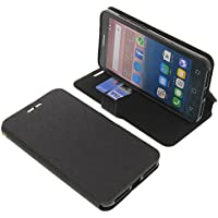 Funda para Alcatel One Touch Pop 3 5.5 estilo libro negra protectora