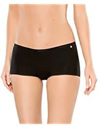 Schiesser Ladies Shirt 6 pack Multipack couleurs solides S-XL - Noir