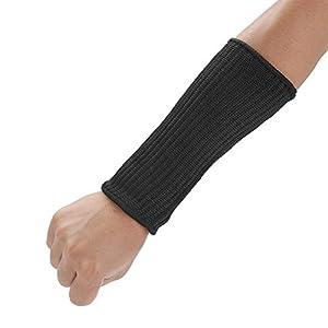 Akozon Schnittfeste Ärmel, 1 Paar Verhindert Schutz vor Kratzern Kratzer Hautirritationen UV Schutz Anti Schnitt Arm…