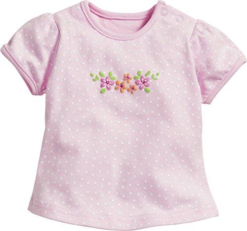 Schnizler Baby-Mädchen Blumen T-Shirt, (Rosa 14), 56 -