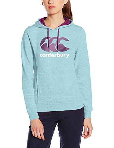 Canterbury CCC Veste à capuche pour femme Bleu - Capri