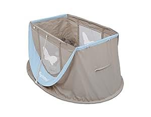magicbed lit parapluie pop up b b mini liberty atmosphere blue b b s pu riculture. Black Bedroom Furniture Sets. Home Design Ideas