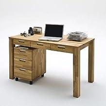 Suchergebnis auf f r schreibtisch eiche massiv for Schreibtisch eiche massiv