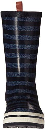 Helly Hansen Damen Midsund 2 Graphic Gummistiefel Blau (Night Blue / Charcoal / E)
