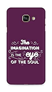 Amez The Imagination is the Eye of the Soul Back Cover For Samsung Galaxy A7 2016