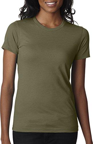 Next Level -  T-shirt - Donna verde - Verde militare