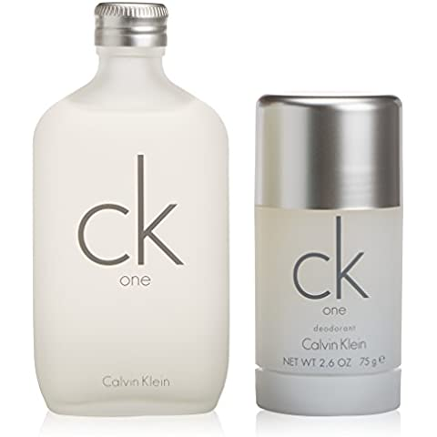 Calvin Klein CK One Set mit Deodorant Stick 100ml + 75g
