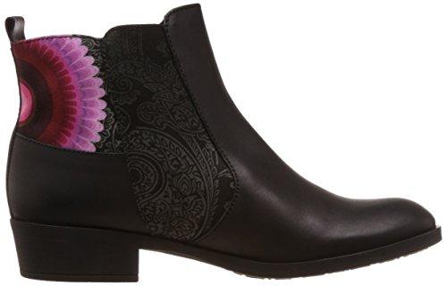 Desigual Shoes Natalia 20, Bottes Classics courtes, non doublées femme Noir - Schwarz (2000 NEGRO)