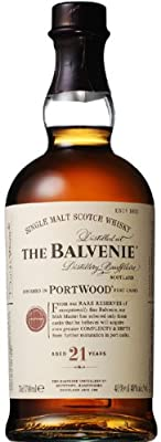 BALVENIE Portwood 21 Year Old Speyside Malt Whisky 70cl Bottle