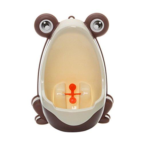 Leisial Braun Kinder Urinal Baby WC-Training Kinder Töpfchen Wand Urinale Kindertöpfchen Toilette Töpfchen Urinal