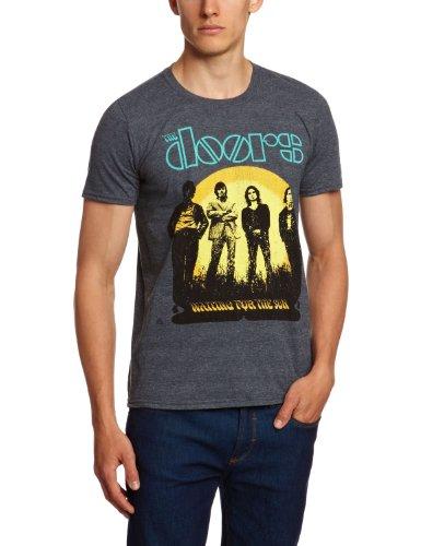 Bravado - The Doors - Waiting For The Sun, T-shirt da uomo, Grau - Grey, Small