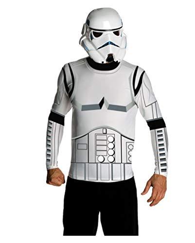 Horror-Shop Star Wars Stormtrooper Shirt & Maske M