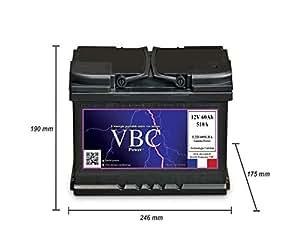 Batterie Auto 12V 60Ah 510A
