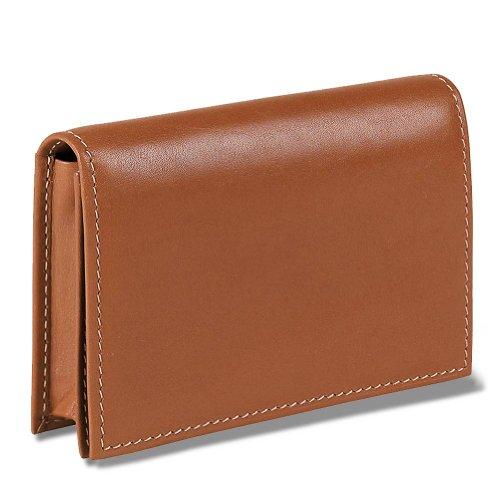 Levenger Card Wallet, Sattel (al7965SA Nm)