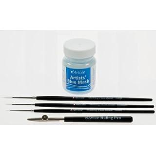 Artcoe 5 piece Masking Fluid Set - Blue