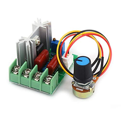 CA 50-220V 2000W SCR Regulador de Voltaje Eléctrico Regulador de Velocidad del...