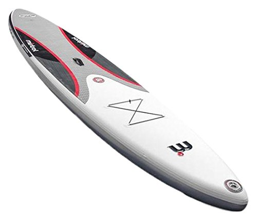 Mistral Stand up Paddle Board Inflatable Equipe 10'5 SUP Aufblasbare, Weiß, M