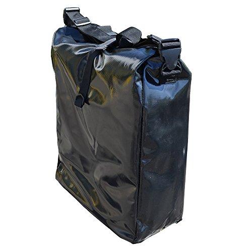 Filmer Fahrrad-Doppeltasche aus Tarpaulin, Schwarz, 54 x 37 x 16 cm, 32 Liter, 46367 Preisvergleich