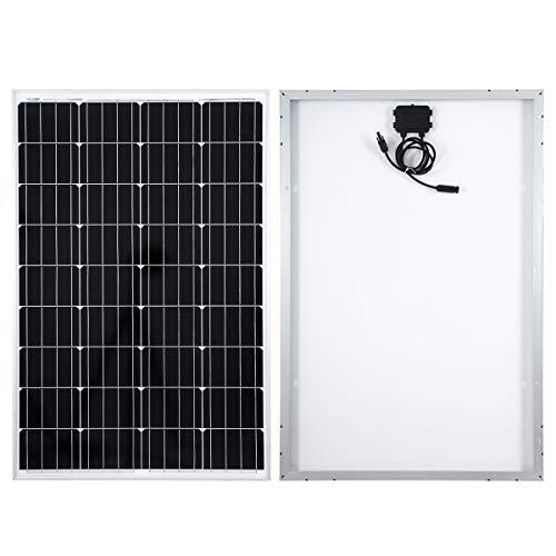 Este panel solar tiene varios usos que incluyen aplicaciones marinas, campamentos secos y otras aplicaciones fuera de la red.   El panel está diseñado para soportar grandes cargas de nieve y viento. La parte posterior del panel cuenta con una caja de...