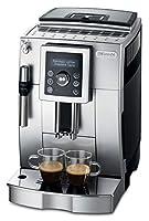 De'Longhi ECAM 23.420.SB Kaffeevollautomat (1450 Watt, Digitaldisplay, Profi-Aufschäumdüse, Kegelmahlwerk 13 Stufen, Herausnehmbare Brühgruppe, 2-Tassen-Funktion) silber/schwarz