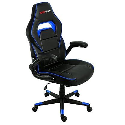 Mars Gaming Silla Profesional, Azul