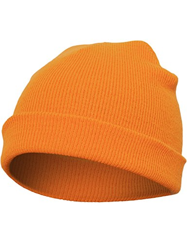 Flexfit Mütze Heavyweight Beanie, blaze orange, one size, (Herr Orange Kostüm)
