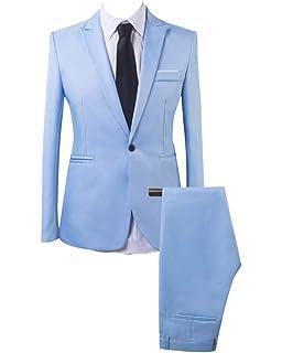 Rera Homme Costume 3 pièces Veste+Gilet+Pantalon Décontracté Formel ... bd356b6778a