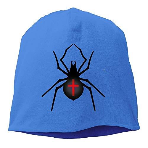 Halloween Spider Warm Stretchy Daily Beanie Hat Skull Cap Outdr Winter ()