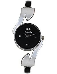 Rabela Analogue Black Dial Women's Watch - RACHKPK