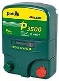 Patura Weidezaungerät P3500-12 Volt/230 Volt - 5-stufige Zaun- und Batteriekontrolle - für anspruchsvolle Zäune und robuste Tierarten - mit Tiefentladeschutz