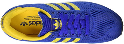 adidas la Trainer Em, Scarpe da Ginnastica Basse Unisex – Adulto Blu (Bold Blue/Eqt Yellow/Ftwr White)