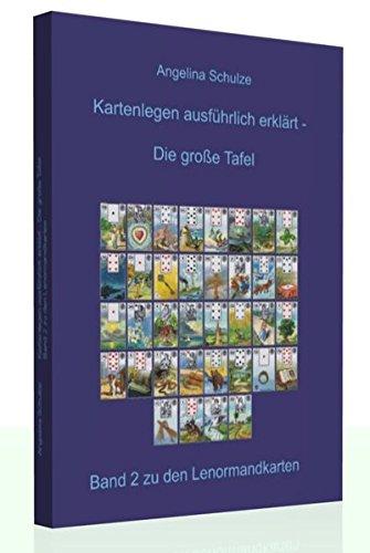 Kartenlegen ausführlich erklärt - Die grosse Tafel: Band 2 zu den Lenormandkarten