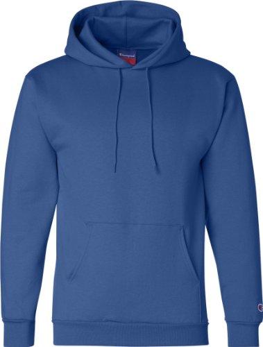 Champion doppia azione Dry Gioventù Maglione con cappuccio in pile Blu - blu