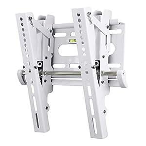 Hama TV-Wandhalterung MOTION, neigbar, für 48-94 cm Diagonale (19-37 Zoll), max. 25 kg, VESA bis 200 x 200, Wandabstand 5,2 cm, weiß
