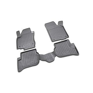 Brillant Gummimatten Fußmatten für Golf PLUS (1KP) (12/2004-2014)
