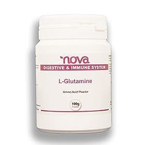 Nouvelle L Glutamine Pure - 100g de poudre