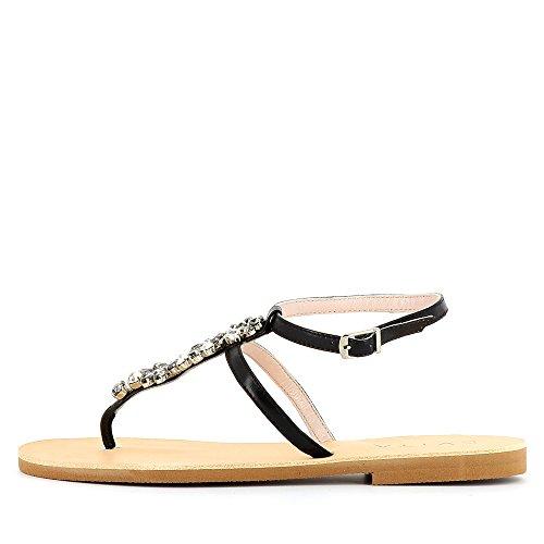 Evita Shoes  Greta, Sandales pour femme Noir