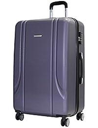 HAUPTSTADTKOFFER - Kotti - Set de 2 Valises bagages à main Trolley 56 x 35 x 21 cm, 4 roues, TSA, Graphite & Noir