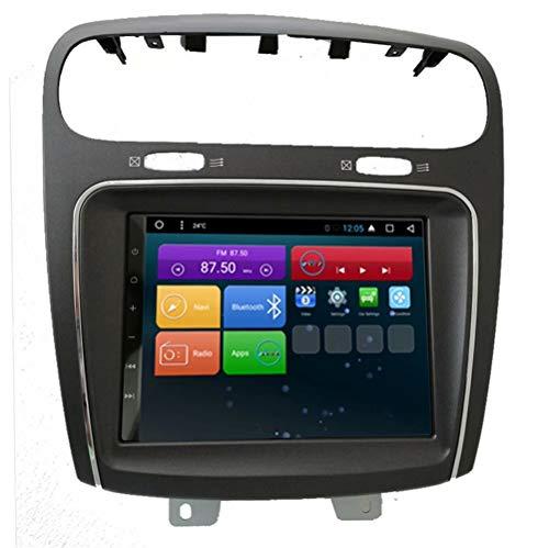 ROADYAKO 8,8 Zoll Auto-GPS-Navigation Android 7.1 für FIAT Leap Freemont Dodge Journey 2011 2012 2013 2014 Selbst-Autoradio WiFi 3G RDS Spiegel Link FM AM