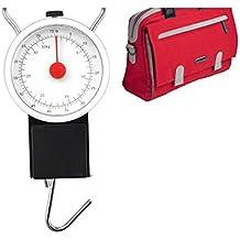 Balanza bascula con gancho de Múltiples Usos hasta 32KG perfecto viaje maleta equipaje mano y pesca