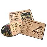 Boxenschild Pferd mit Foto und Gravur aus Holz: Schöne Lasergravur und Fotodruck mit Namen und Abstammung individuell möglich, Personalisierte Stalltafel – Futtertafel - Boxenschild für Pferde & Ponys