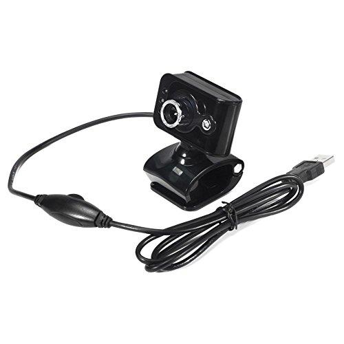 ForU-1 Webcam mit integriertem Mikrofon für PC und Laptop, 20 MP, USB 2.0, 3 LEDs