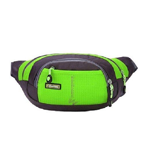 Sport-Hfttasche-OverDose-Mode-Unisex-Wasserdicht-Laufgrtel-Camping-Bum-Outdoor-Sports-Laufen-Hfttasche-Zip-Beutel-Grn