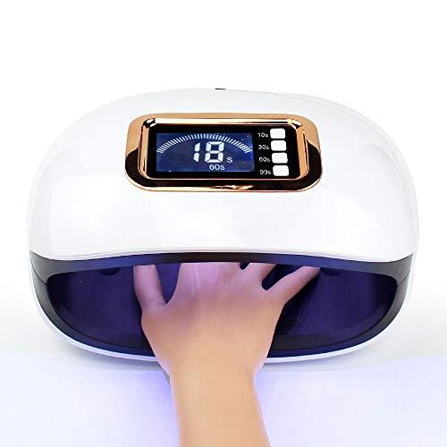 JUZEN Intelligente Nagel-Phototherapie-Maschine der hohen Leistung 72W 36 doppelte helle Lampe bördelt schnell gebratene trockene Nagel-Maschine -